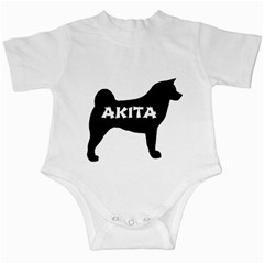 Akita Name Silo Infant Creepers