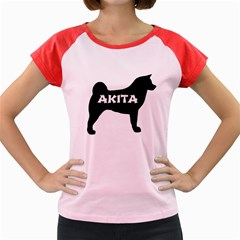 Akita Name Silo Women s Cap Sleeve T-Shirt