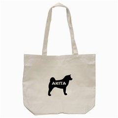 Akita Name Silo Tote Bag (Cream)