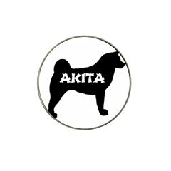 Akita Name Silo Hat Clip Ball Marker (10 pack)