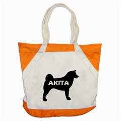 Akita Name Silo Accent Tote Bag