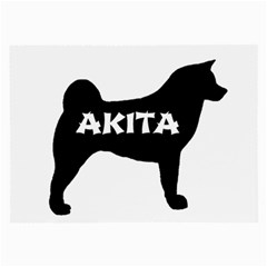 Akita Name Silo Large Glasses Cloth (2-Side)