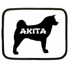 Akita Name Silo Netbook Case (Large)
