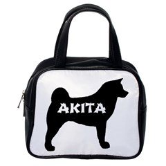 Akita Name Silo Classic Handbags (One Side)