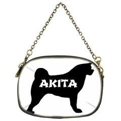 Akita Name Silo Chain Purses (One Side)