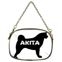 Akita Name Silo Chain Purses (Two Sides)