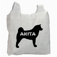 Akita Name Silo Recycle Bag (Two Side)
