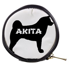 Akita Name Silo Mini Makeup Bags