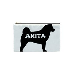 Akita Name Silo Cosmetic Bag (Small)