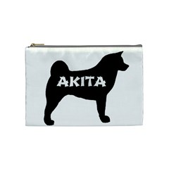 Akita Name Silo Cosmetic Bag (Medium)