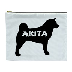 Akita Name Silo Cosmetic Bag (XL)