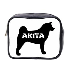 Akita Name Silo Mini Toiletries Bag 2-Side