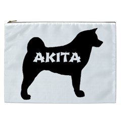 Akita Name Silo Cosmetic Bag (XXL)