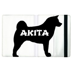 Akita Name Silo Apple iPad 3/4 Flip Case