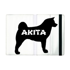Akita Name Silo Apple iPad Mini Flip Case