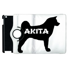 Akita Name Silo Apple iPad 2 Flip 360 Case