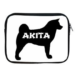 Akita Name Silo Apple iPad 2/3/4 Zipper Cases