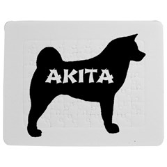 Akita Name Silo Jigsaw Puzzle Photo Stand (Rectangular)