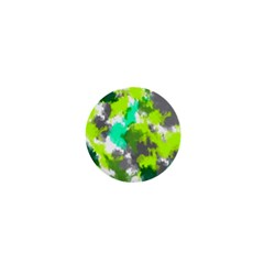 Abstract Watercolor Background Wallpaper Of Watercolor Splashes Green Hues 1  Mini Magnets