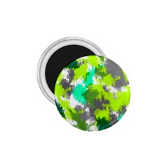 Abstract Watercolor Background Wallpaper Of Watercolor Splashes Green Hues 1 75  Magnets