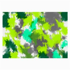 Abstract Watercolor Background Wallpaper Of Watercolor Splashes Green Hues Large Glasses Cloth