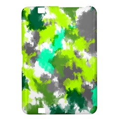 Abstract Watercolor Background Wallpaper Of Watercolor Splashes Green Hues Kindle Fire Hd 8 9