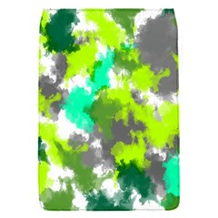 Abstract Watercolor Background Wallpaper Of Watercolor Splashes Green Hues Flap Covers (s)