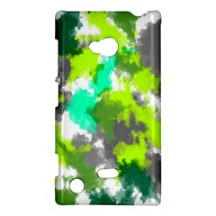 Abstract Watercolor Background Wallpaper Of Watercolor Splashes Green Hues Nokia Lumia 720