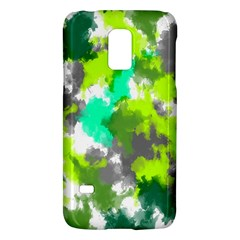 Abstract Watercolor Background Wallpaper Of Watercolor Splashes Green Hues Galaxy S5 Mini