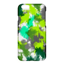 Abstract Watercolor Background Wallpaper Of Watercolor Splashes Green Hues Apple Iphone 6 Plus/6s Plus Hardshell Case