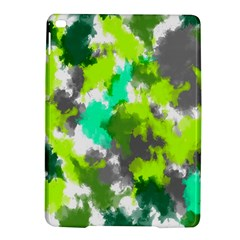 Abstract Watercolor Background Wallpaper Of Watercolor Splashes Green Hues Ipad Air 2 Hardshell Cases