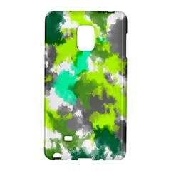 Abstract Watercolor Background Wallpaper Of Watercolor Splashes Green Hues Galaxy Note Edge