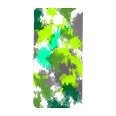Abstract Watercolor Background Wallpaper Of Watercolor Splashes Green Hues Samsung Galaxy Alpha Hardshell Back Case