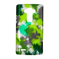 Abstract Watercolor Background Wallpaper Of Watercolor Splashes Green Hues Lg G4 Hardshell Case