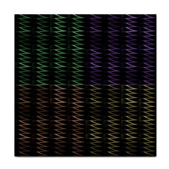 Multicolor Pattern Digital Computer Graphic Tile Coasters