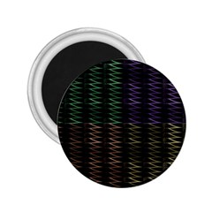 Multicolor Pattern Digital Computer Graphic 2.25  Magnets