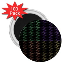 Multicolor Pattern Digital Computer Graphic 2.25  Magnets (100 pack)