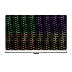 Multicolor Pattern Digital Computer Graphic Business Card Holders