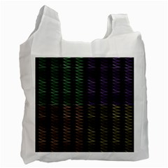Multicolor Pattern Digital Computer Graphic Recycle Bag (Two Side)
