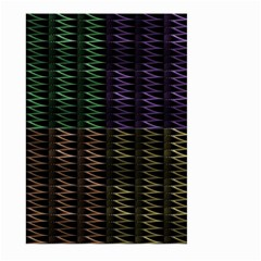 Multicolor Pattern Digital Computer Graphic Large Garden Flag (two Sides)