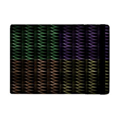 Multicolor Pattern Digital Computer Graphic Apple iPad Mini Flip Case