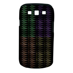Multicolor Pattern Digital Computer Graphic Samsung Galaxy S Iii Classic Hardshell Case (pc+silicone)
