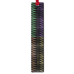 Multicolor Pattern Digital Computer Graphic Large Book Marks