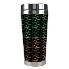 Multicolor Pattern Digital Computer Graphic Stainless Steel Travel Tumblers