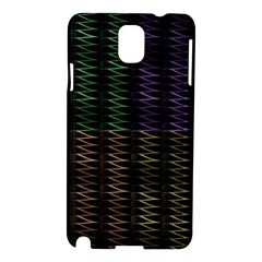 Multicolor Pattern Digital Computer Graphic Samsung Galaxy Note 3 N9005 Hardshell Case