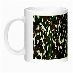 Camouflaged Seamless Pattern Abstract Night Luminous Mugs