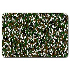 Camouflaged Seamless Pattern Abstract Large Doormat