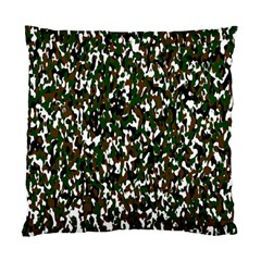 Camouflaged Seamless Pattern Abstract Standard Cushion Case (two Sides)