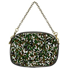 Camouflaged Seamless Pattern Abstract Chain Purses (Two Sides)