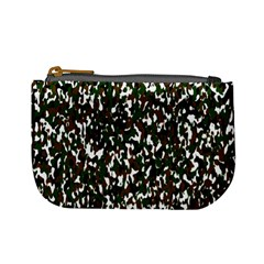 Camouflaged Seamless Pattern Abstract Mini Coin Purses